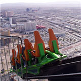 XScream Ride at the Stratosphere Hotel Las Vegas